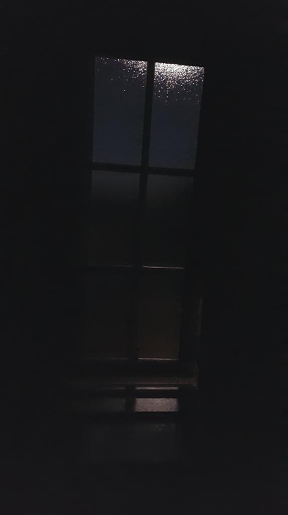 Night falls on Edinburgh