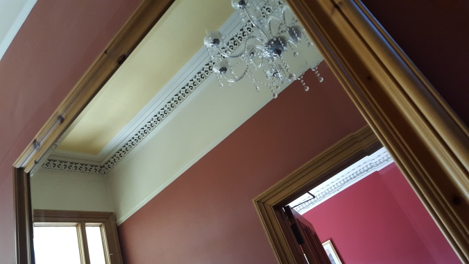 Grand ceiling, Appin House