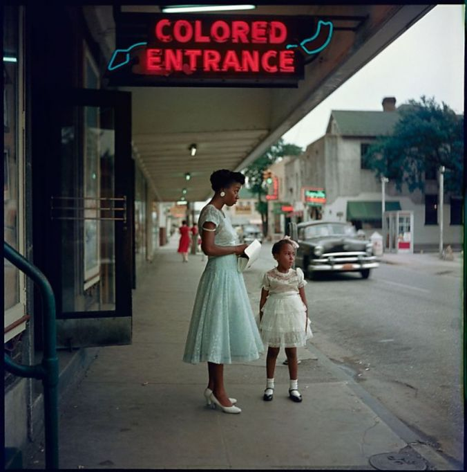 """Department Store, Mobile, Alabama,"" by Gordon Parks (1956)"
