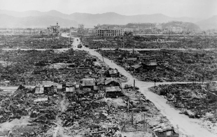 Nagasaki, August 9, 1945.