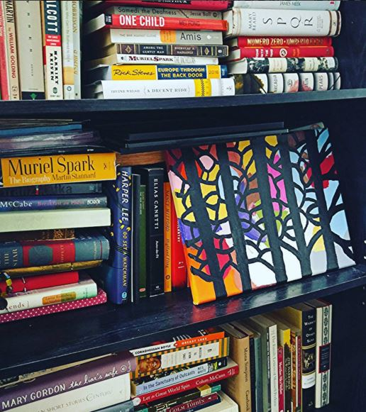 books, glorious books - and a bit of my own art therapy