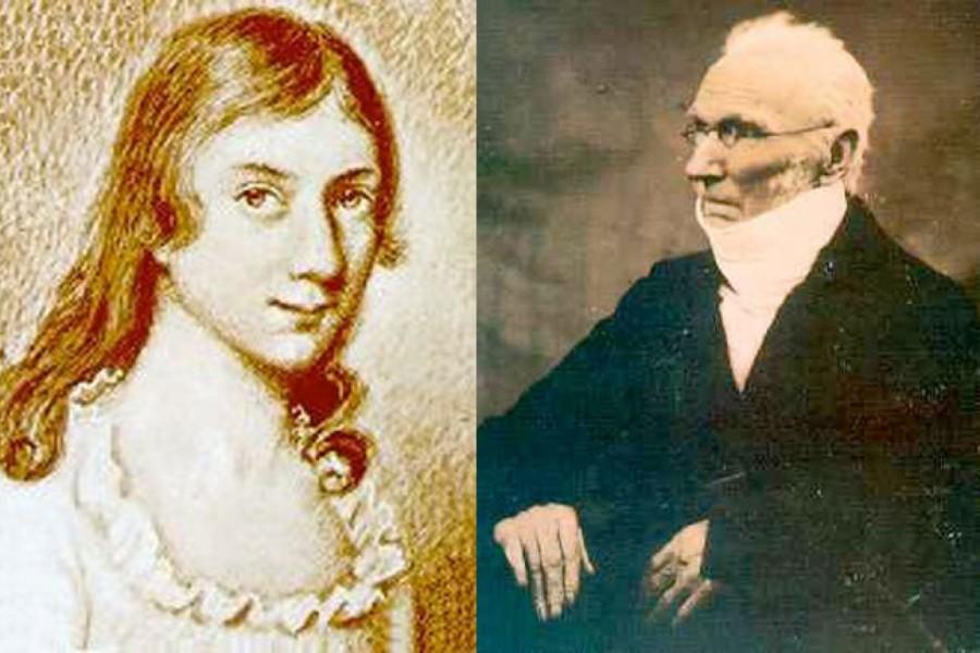 Patrick Brontë and Maria Branwell Brontë