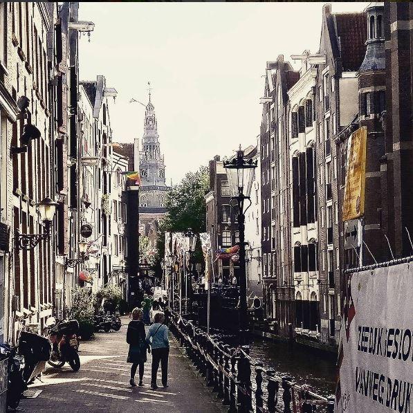 amsterdam street: august 2016.