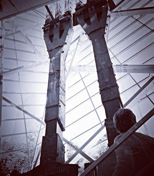 9/11 Memorial, New York City. June 2015.