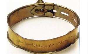 Collar of Emily Bronte's dog Keeper