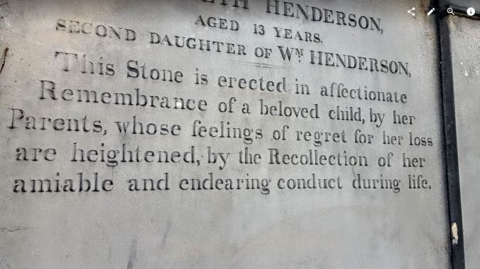 Unimaginable loss writ in stone - Edinburgh, Scotland 2015.