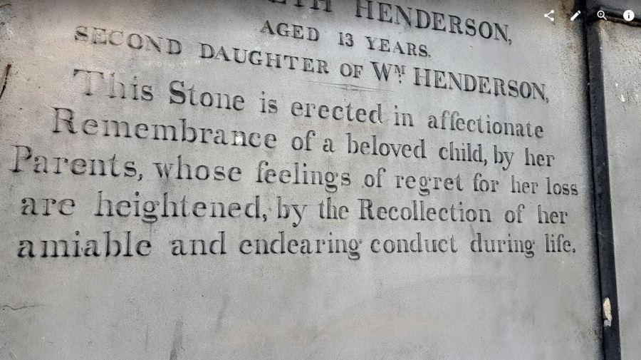 Unimaginable loss writ in stone - Edinburgh, Scotland 2015.