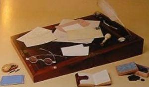 Portable desk of Charlotte Bronte