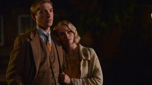 Domnhall Gleeson and Margot Robbie Fox Searchlight/David Appleby