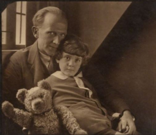 A.A. and Christopher Robin Milne