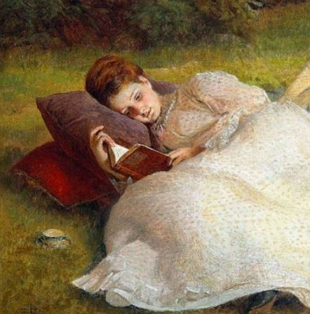 "James Archer - ""The Picnic"" - detail"