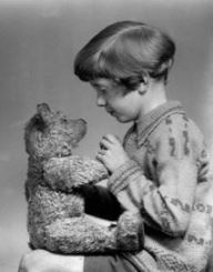 Christopher Robin Milne and the original Winnie the Pooh